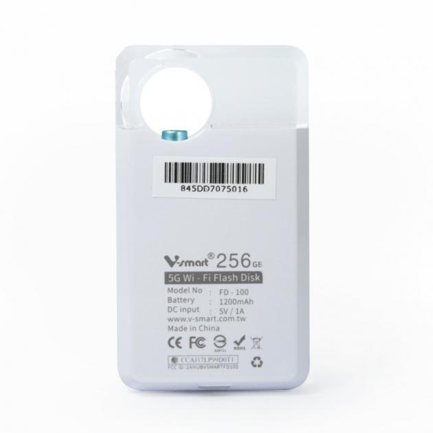攜帶式迷你雲 5G WI-FI 無線隨身碟 256GB-科技藍 4
